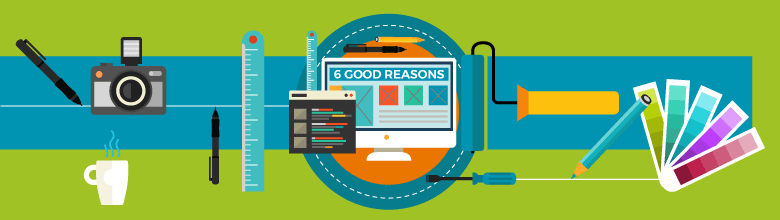 6 good reasons why it's time for a new website