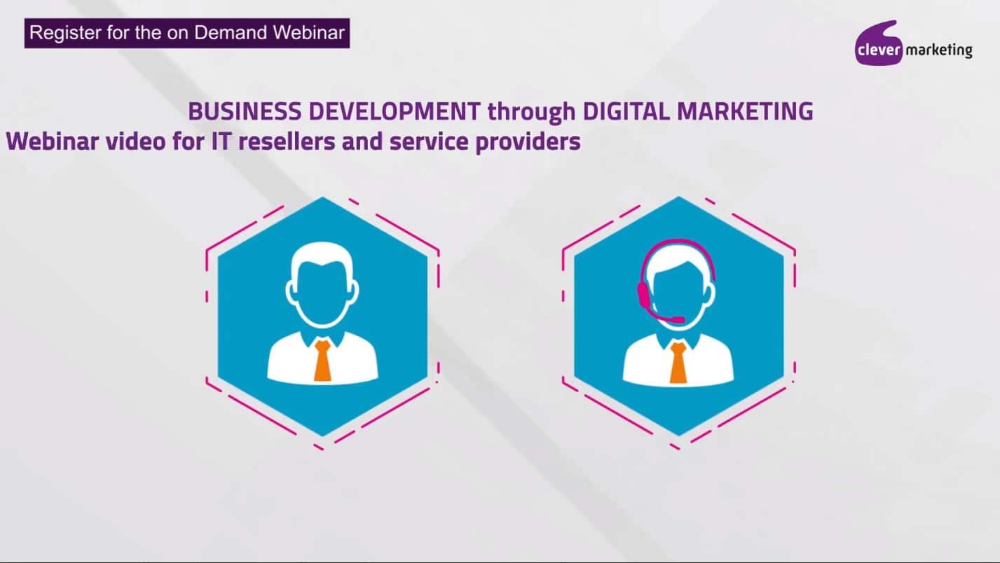 Register for the IT channel marketing webinar.